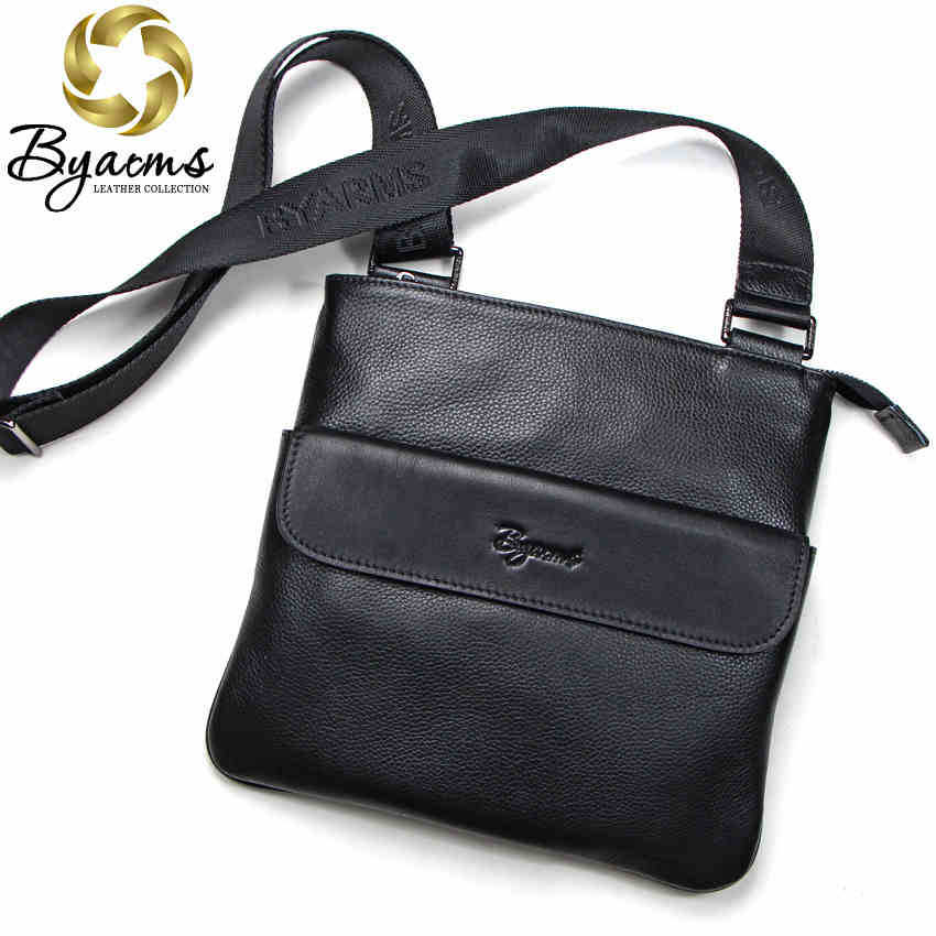 Free Shipping 2 Colors Genuine Leather Men Messenger Bags Genuine Leather Bags Fashion Men Bags 1051