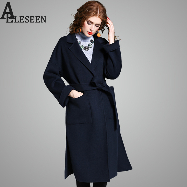 Aliexpress.com : Buy 100% Wool Coat Outerwear 2017 Winter Women ...