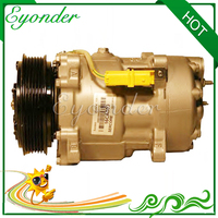 AC A/C Klimaanlage Kompressor Kühlung Pumpe für Peogeot Gemacht PARTNER 5F 1 9 2 0 307 SW CC 6453JN 6453LR 6453QL 9655421780 6453TE
