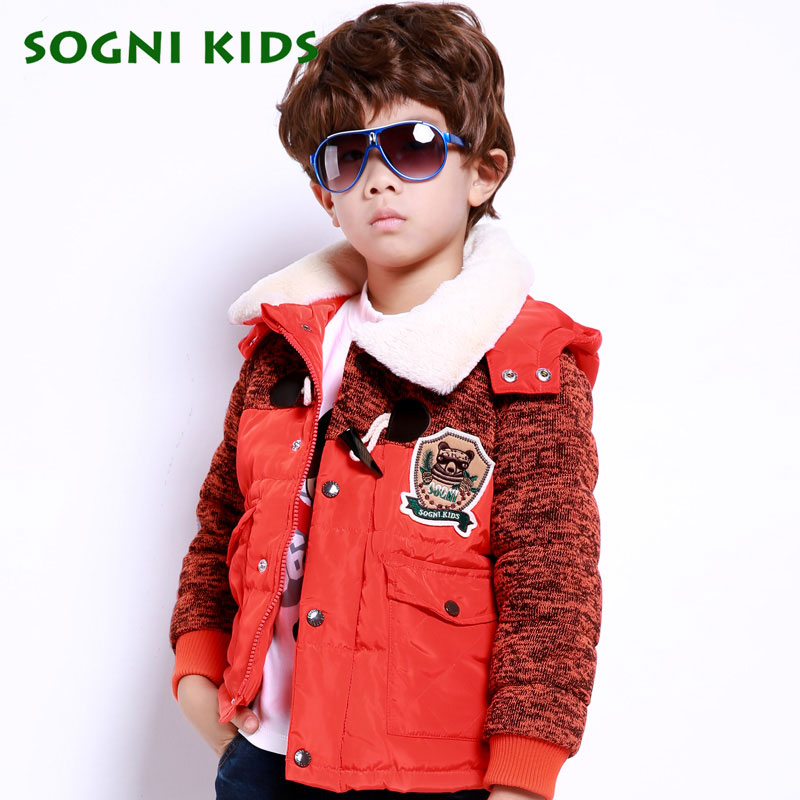 SOGNI KIDS Children Winter Jackets For Boys Down Jackets Coats 90 White Duck Down High Quality