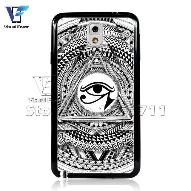 Eyes Of Horus Case Illuminati Symbols Cover Hybird Tpupc For Samsung
