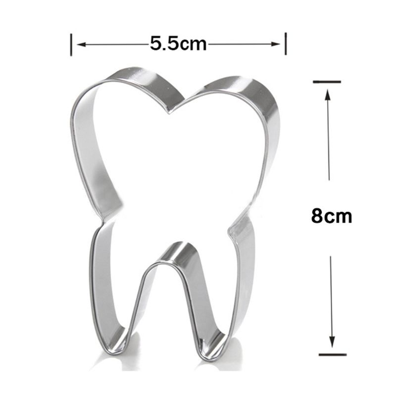 3 шт./компл. Нержавеющая сталь 3D Зубная щётка для нарезки печенья в виде печенья Форма для помады для бисквита рукоделие Форма для пирога инструмент для украшения