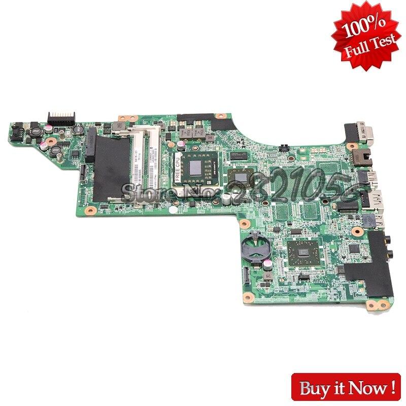 NOKOTION For HP Pavilion DV6 3000 Laptop Motherboard 595135 001 Main Board Socket s1 DDR3 Free