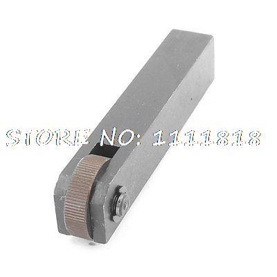 Diagonal 1.0mm Pitch 28mm Single Wheel Linear Knurl Knurling Tool