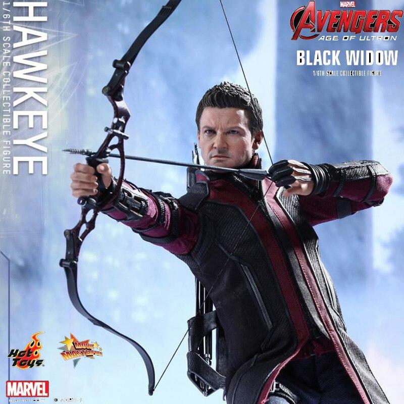 Chaude Jouets Avengers 2 Hawkeye L'âge de Ultron Iron Man 3: 1/6 échelle Jeremy Renner Collection Figures Set