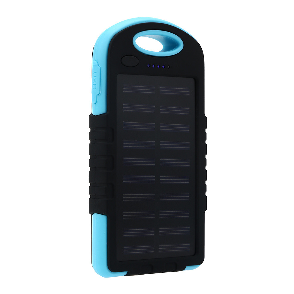 8000mAh Power Bank Portable Waterproof Solar Charger Dual USB External Battery For Cell Phone Accessories USB for xiaomi iphonex