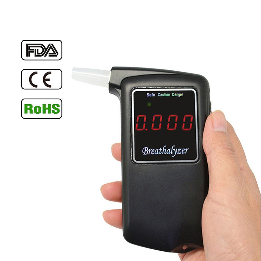 Dragonpad Alcohol Tester Professional Breathalyzer Portable High precision Digital Breath Analyzer with Testing Result Recording