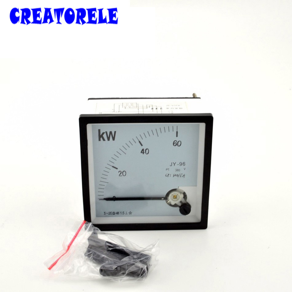 5cec7144b6d AC 96 KW (380 V) medidor de Energia Medidor de Swr Watt Ponteiro  Instrumento de Diagnóstico-ferramenta Wattímetro Elétrica