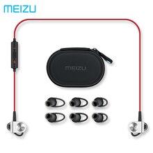 Original meizu ep51 bluetooth4 soporte aptx wireless deportes auriculares con cancelación de ruido micrófono aleación de aluminio shell tpe línea meizu