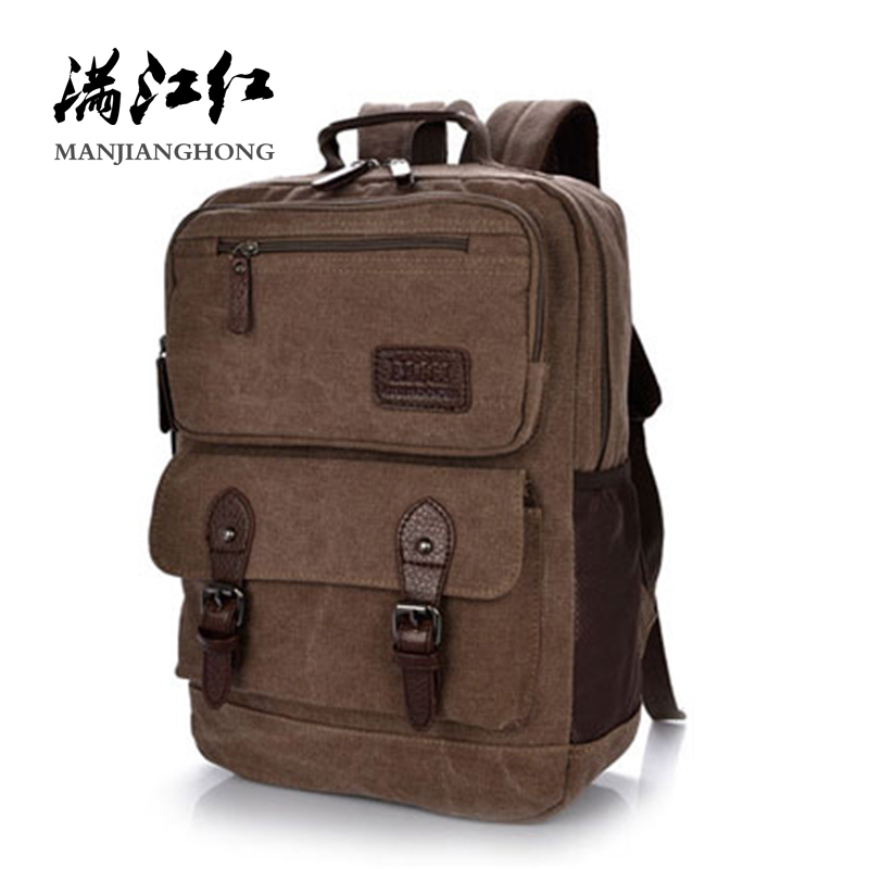 2018 Men Travel Backpack Vintage Canvas Casual Student School Bags For Girls Boys Fashion Women Laptop Backpack Rucksack 1209 2018 fashion women canvas backpacks patchwork school bags for girls boys casual student computer backpack mochila rucksack m285