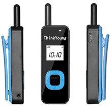 Mini sem fio walkie talkie Baofeng rádio correspondente de transporte conveniente e seguro à prova d água freqüência 440 480 (MHz) XY 888
