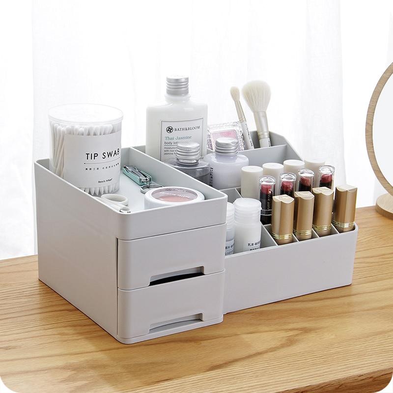 Thickening Makeup Storage Box Small Drawer Desk Sundries Storage Container Organizer Mac Cosmetics Lipstick Box Gift Box