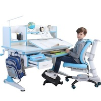 Study Can Lift Table And Set Children S Desk Chair