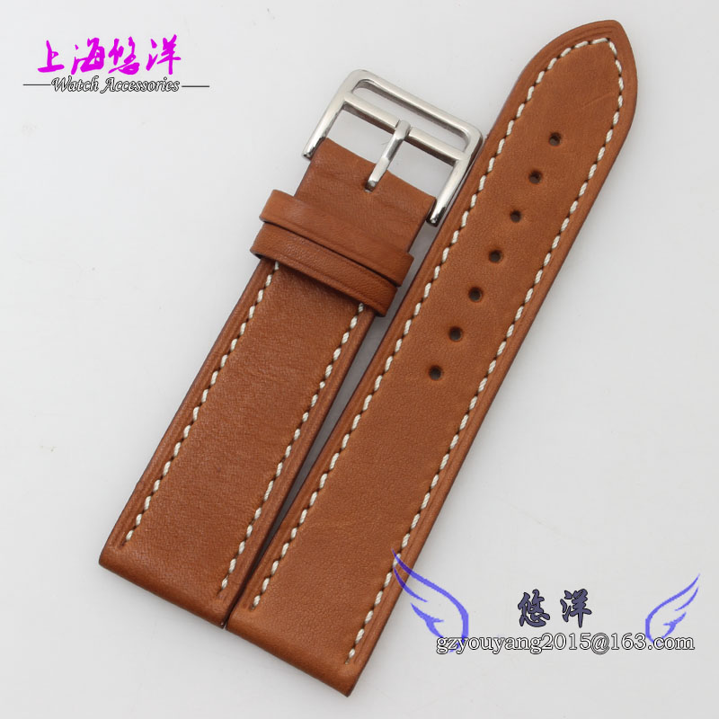 The leather strap 22 mm adapter men s watch