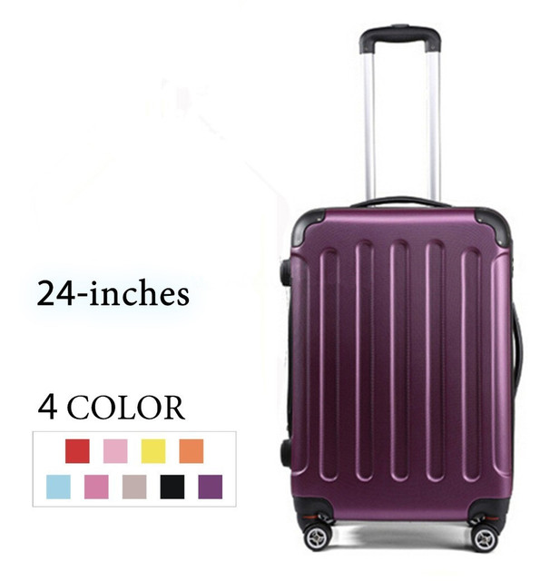 1b834af44b 24 Inches Men Rolling luggage Travel Bag Women Travel Suitcase Trolley  Suitcase Man Luggage Bags Men Travel Luggage