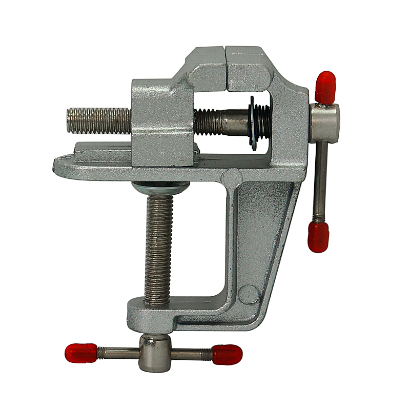Table Bench CNC Vise Clamp Mini Tool Aluminum Miniature Small Very Portable Hobby Clamp On