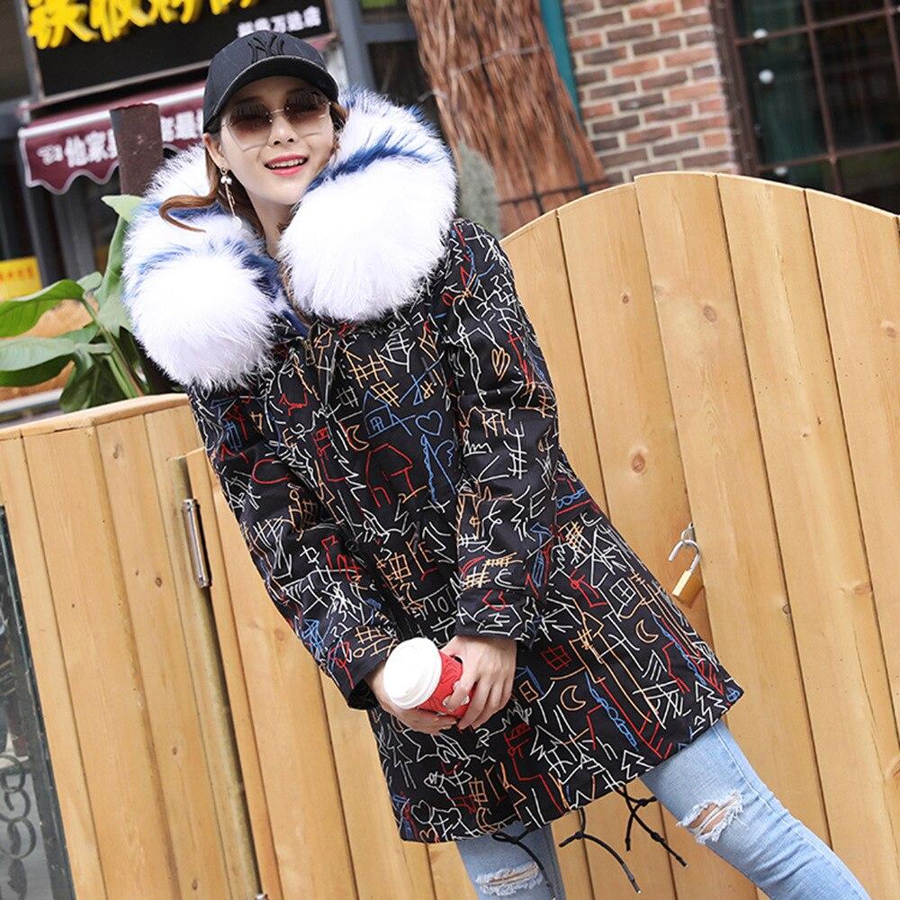 Sortie Coupe Col Nouvelle Renard Naturel Manteau Avec Femelle Femmes Vêtements Vison vent Parc Véritable Parka D'hiver 3xl De Fourrure 2019 qPq7cUC