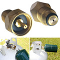 1Pc Metal Copper Outdoor Camping Stove Adaptor Propane Refill Adapter Gas Cylinder Tank High Quality Coupler Heater for Hiking