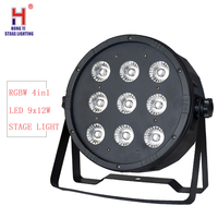 DMX 7 Kanäle LED Flach Par Licht 9x12 W RGBW 4IN1 hohe qualität direkt dj truss