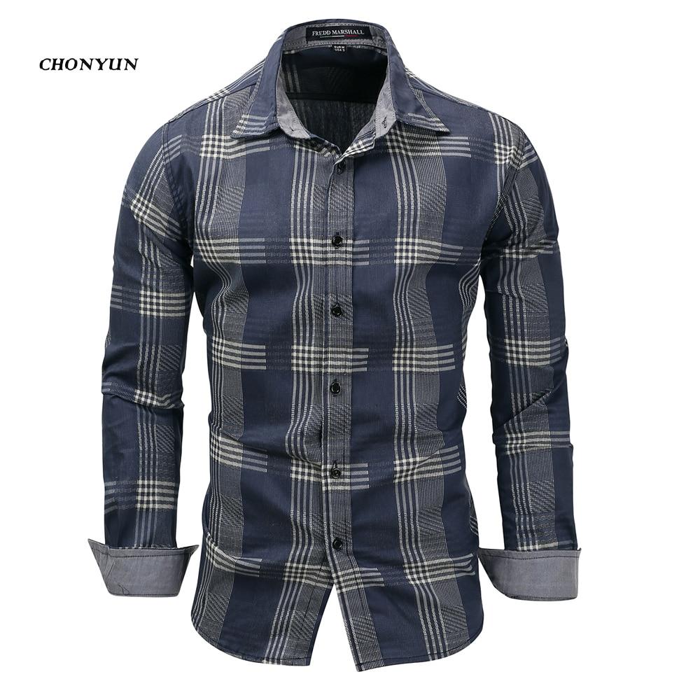 Denim Long Sleeve Casual Shirt
