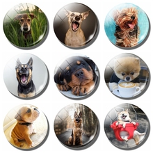 Lovely Dog Magnet Fridge Notes German Shepherd Magnetic Stickers