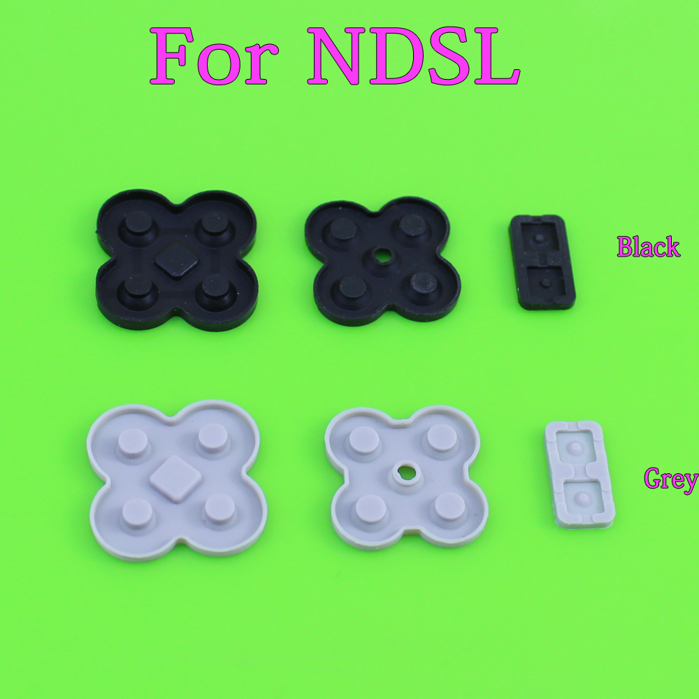 conducting button rubber silicone dpad pad RL LR L R left right keypad for NDSL/DSL/Nintendo DS Lite game repairconducting button rubber silicone dpad pad RL LR L R left right keypad for NDSL/DSL/Nintendo DS Lite game repair