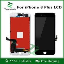 5 шт./лот 5,5 дюймов ЖК Дисплей для iphone 8 Plus класс AAA ни пятно дисплей с 3D сенсорный экран Digitizeer сборки черный/белый