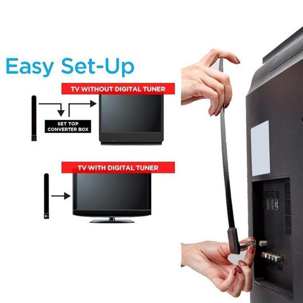 Цифровая антенна ясная ТВ антенна 1080 p HD Канатный кабель HD tv Бесплатно ТВ-палка для внутреннего спутникового антенного сигнала для дома