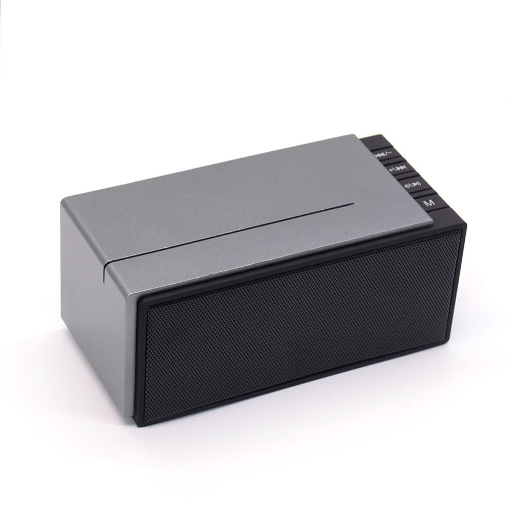 Portable sans fil bluetooth 4 0 haut parleur piano clé conception son stéréo soutien aux tf carte mains parole libre en plastique en métal