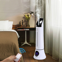 5L Floor standing Humidifier Home Bedroom Air Aromatherapy Ultrasonic Humidifier Cool Nano Mist Maker Essential Oil Diffuser
