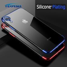TeoYall Plating Cover the Case for iPhone XR Case