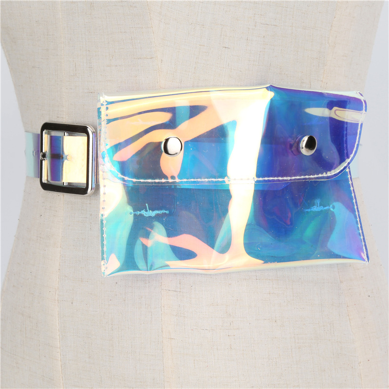 Apparel Accessories Beautiful 2018 Hot Sale Holographic Funny Pack Laser Bum Womens Belt Waist Bag Hologram Purse Fashion Waist Belt Re09 Utmost In Convenience