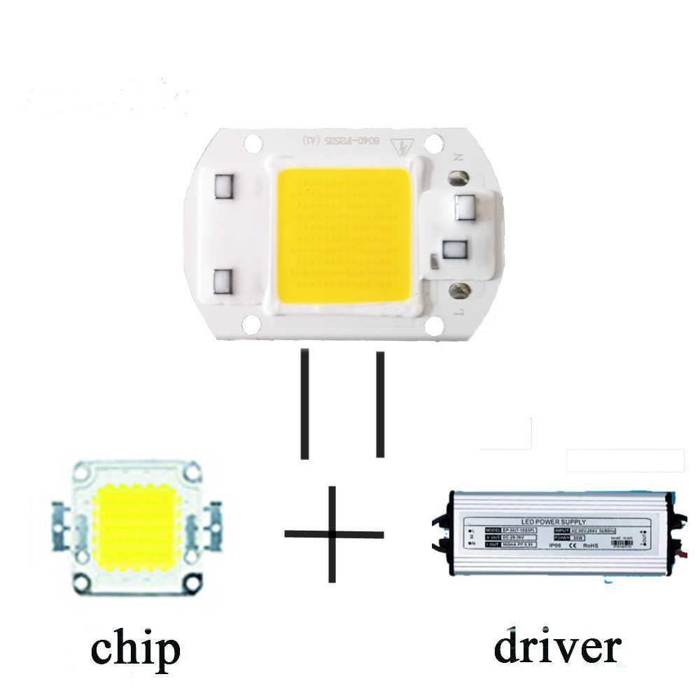 Бескорпусный чип светодиод лампы 220 V смарт-ic нет необходимости водитель лампада светодиодный лампы для потока прожектор 5 W 10 W 20 W 30 W 50 W Diy освещения