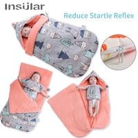 Insular Brand 100% Muslin Cotton Baby Sleeping Bag For Autumn/Winter Baby Stroller Sleepsacks Saco De Dormir Para Bebe Sacks