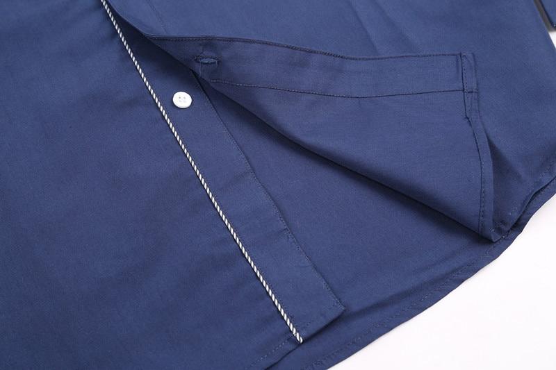 2017 new brand long sleeve shirts social male 5 colors slim fit  striped shirts plus size 3xl mens dress shirts 5