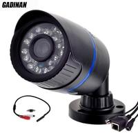 Gadinan ONVIF Micro Wired Audio IP Camera P2P CCTV Outdoor Bullet Camera External Microphone 720P 960P
