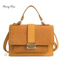 Tonny Kizz vintage luxury handbags women bags designer matte leather shoulder fashion crossbody girls bolsa feminina