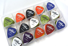 Lots of 100pcs Matte ABS Alice Electric/Acoustic Guitar Picks Plectrums 6 Thickness Assorted With Picks Box Case Free Shippng стоимость