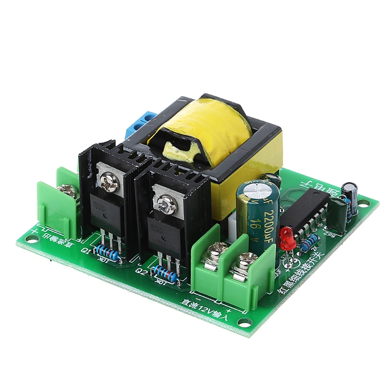 DC-AC Konverter 12V zu 110V 200V 220V 280V 150W Inverter Boost Board Transformator G08 große Wert April 4