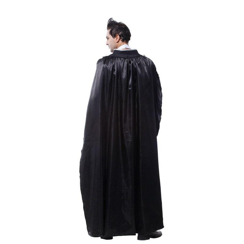Новый Хэллоуин Карнавал Косплэй костюм Мужская одежда вампира сюжетно-ролевых игр классический фильм Платье для косплея форма