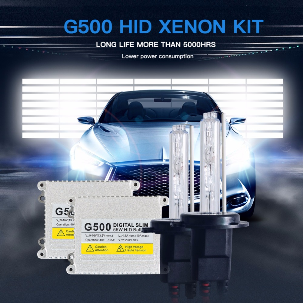 AC 55W hid xenon h7 Car Auto Headlight Light bulb H1 H3 H4 H11 9005 9006