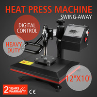 Transferpresse 24x30 cm T Shirt Presse Textilpresse Schwenkpresse Textildru|Acessórios para ferramenta elétrica| |  -