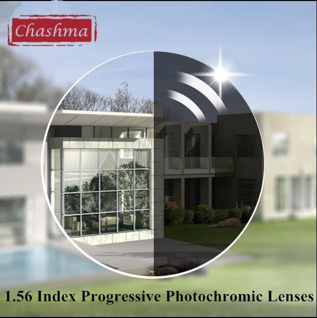 650f30608b Chashma Mira de Cerca y de Lejos Asférica 1.56 Lentes Fotosensibles Multifocal  Progresiva de Color Índice