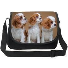 New brand original messenger bag for women cute golden retriever kids boys casual crossbody spain famous mujer boloas bags