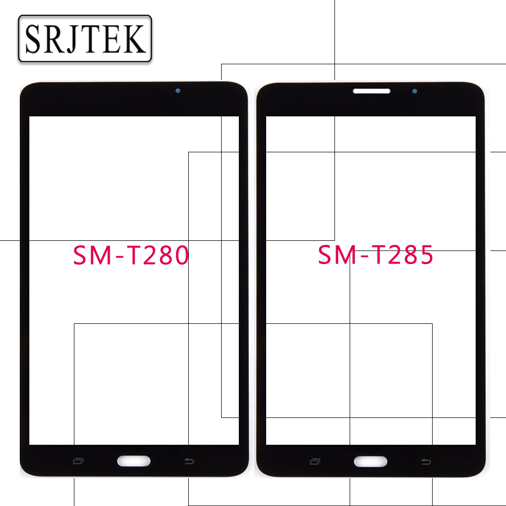 7 for Samsung Galaxy Tab A 7.0 2016 SM-T280 SM-T285 T280 T285 Outer Glass Tablet PC Panel Lens Parts High Quality Replacement for samsung galaxy tab 4 7 0 t233 t235 sm t230 sm t231 lcd display screen replacement parts 7 inch high quality