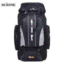 Big Load Knapsack 100L Outdoors Sports Bags Waterproof Nylon Backpack Women Men Hiking Camping Climbing Fishing Rucksack XA769A