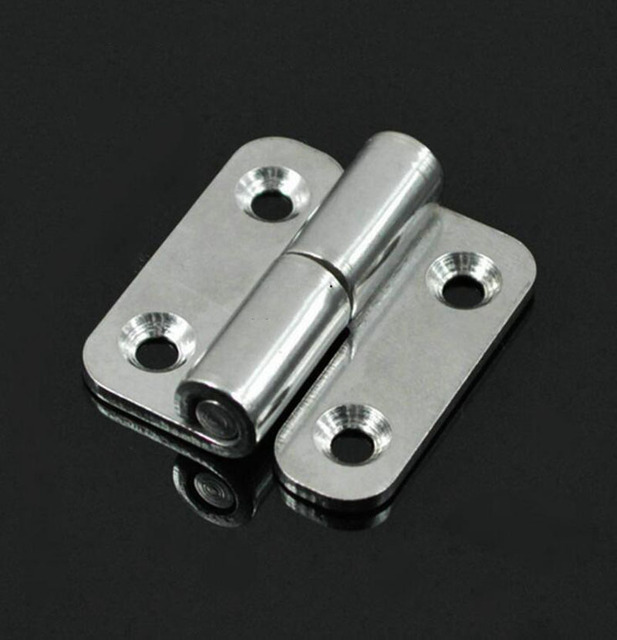 304 Stainless Steel Detachable Hinge Mechanical Equipment Industry Marine Hinge 6PCS