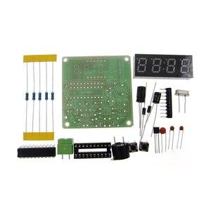 Image 1 - 5 set C51 4 ביטים אלקטרוניים באיכות גבוהה שעון DIY חבילת ייצור אלקטרוני ערכות