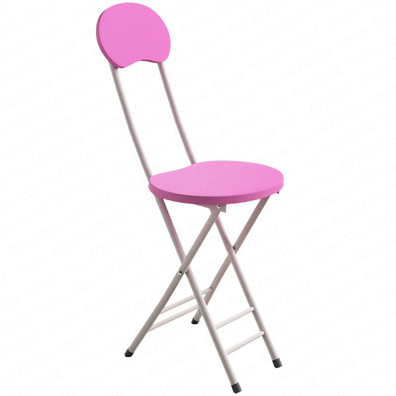 Folding Chair Home Dining Back Stool Student Dormitory Chair Simple Computer Chair Training Stool Home Modern Simple Chair
