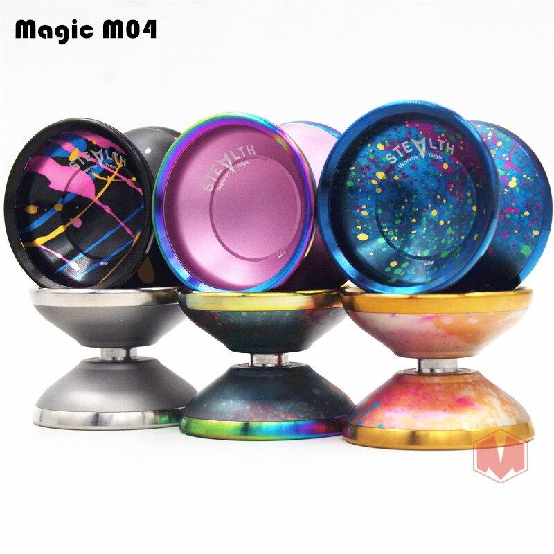 Nouveau arrivent MAGICYOYO FURTIF YOYO Magique M04 métal Professionnel yo-yo la compétition Sportive Diabolo livraison gratuite